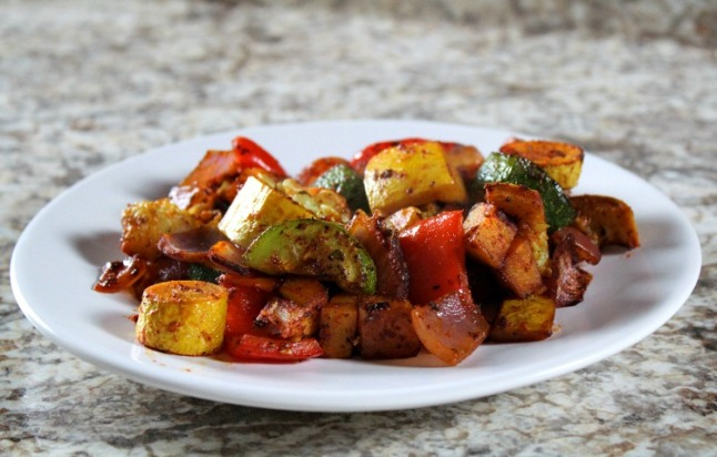 Best Roasted Vegetables -KintheKitchen
