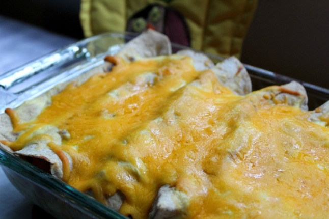 Chicken Enchiladas- KintheKitchen
