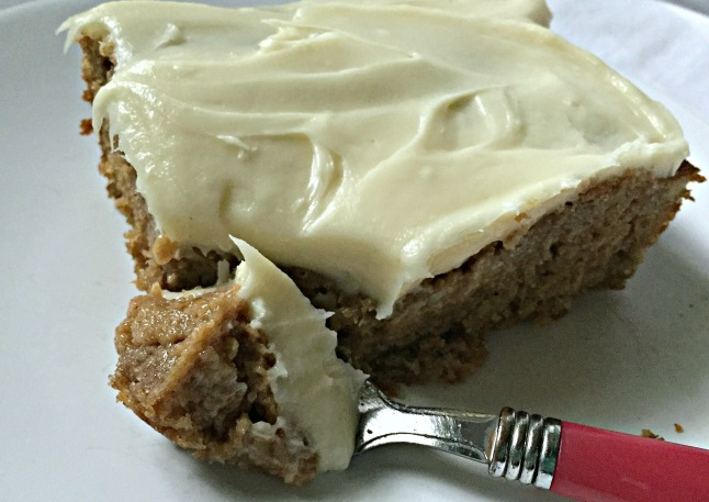 Banana Cake Bars- KintheKitchen