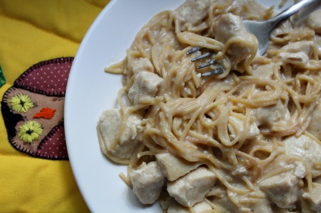 Chicken Tetrazzini- KintheKitchen