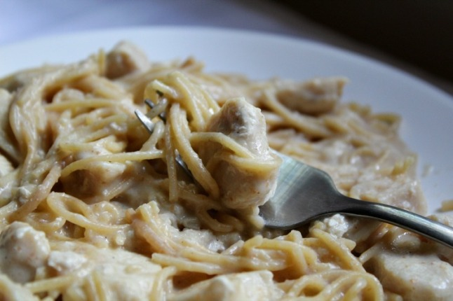 Chicken Tetrazzini--KintheKitchen