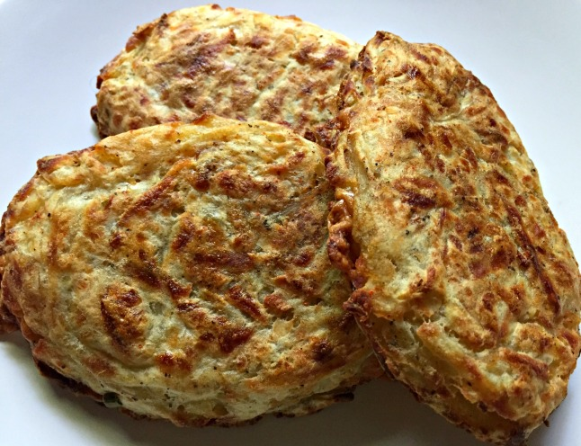 Gouda-Stuffed Hashbrowns -KintheKitchen