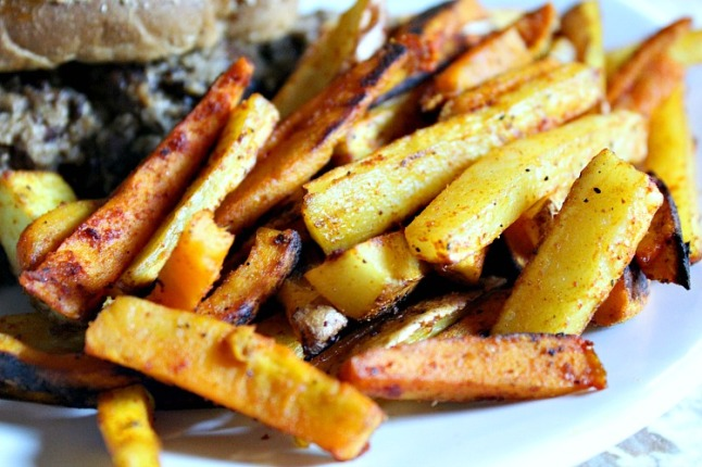 Two-Tone Fries KintheKitchen