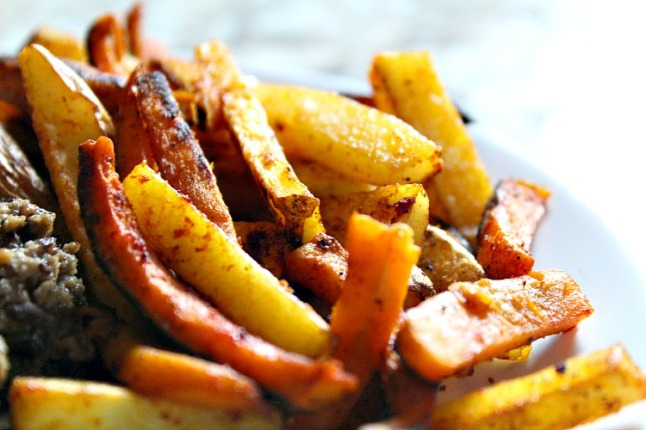 Two-Tone Fries-KnitheKitchen