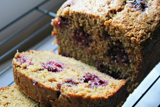 Blackberry Buttermilk Bread -KintheKitchen