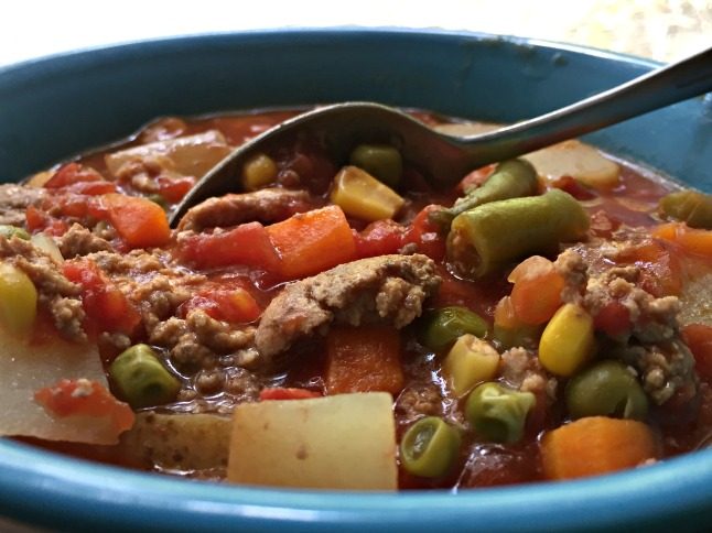 Ground Beef (or Turkey) Vegetable Soup- KintheKitchen.JPG