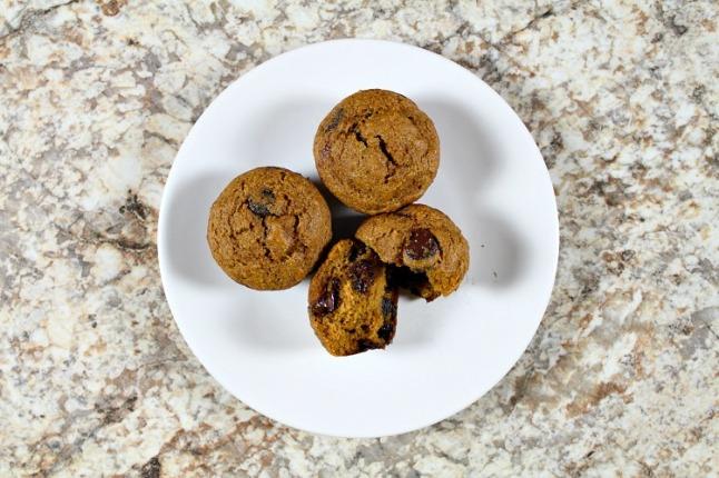 Butternut Squash Chocolate Chip Muffins- KintheKitchen