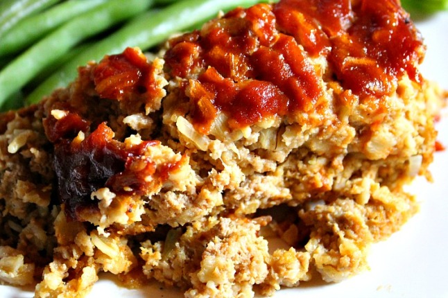 Turkey MeatLoaf-KintheKitchen