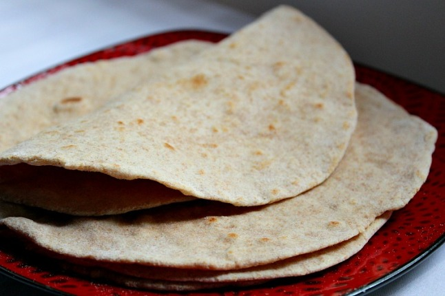 Whole Wheat Flour Tortillas KintheKitchen (2)