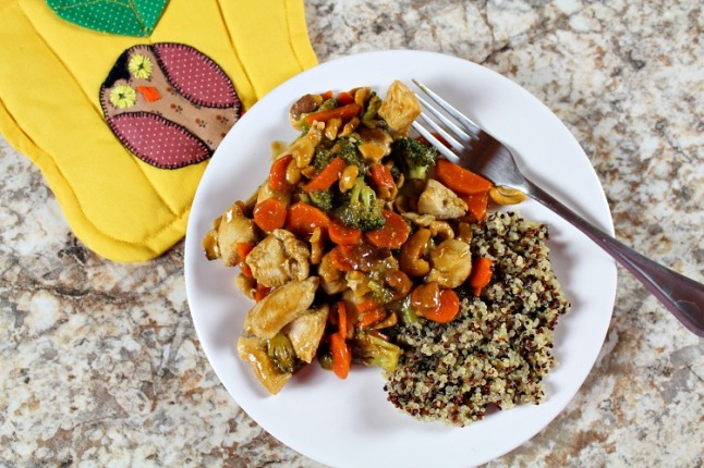 Cashew Chicken -- KintheKitchen