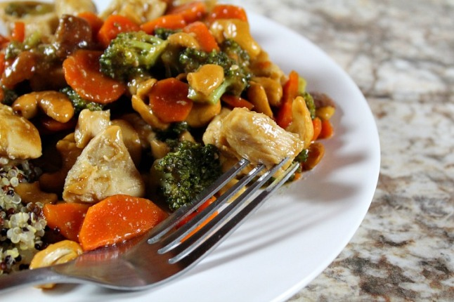 Cashew Chicken- KintheKitchen
