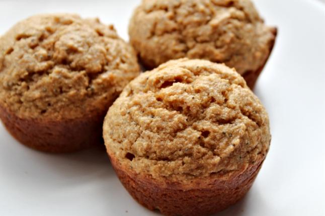 Almond Poppy Seed Muffins KintheKitchen (3)